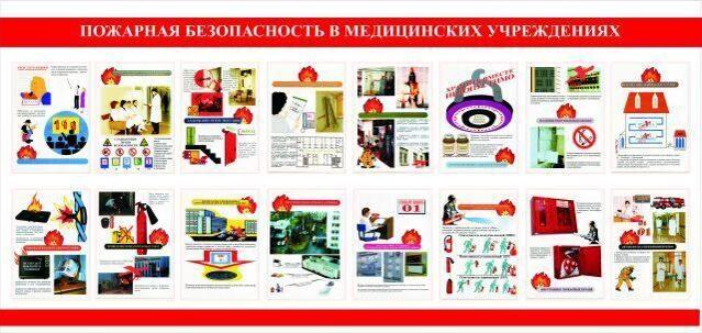инструкция по пожарной безопасности в медицинских учреждениях
